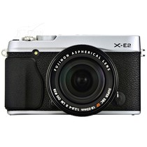 富士 X-E2 单电套机 银色(XF 18-55mm F2.8-4 R LM OIS 镜头)产品图片主图