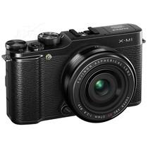 富士 X-M1 微单套机 黑色(XF 27mm f/2.8 镜头)产品图片主图
