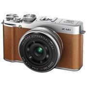 富士 X-M1 微单套机 棕色(XF 27mm f/2.8 镜头)