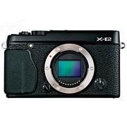 富士 X-E2 单电机身 黑色(1630万像素 3英寸液晶屏 连拍7张/秒)