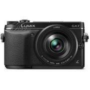 松下 GX7 单电套机 黑色(20mm F1.7 镜头)