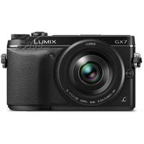 松下 GX7 单电套机 黑色(20mm F1.7 镜头)产品图片主图