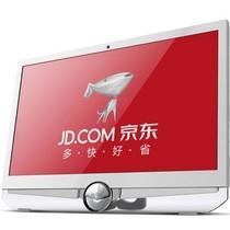 東格 AD101一体台式电脑(AMD 双核P560/2G/500G/DVD/DOS)珍珠白产品图片主图