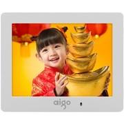 爱国者 数码相框DPF83 白色8英寸 音频视频全功能 支持SD卡扩充容量 礼品首选
