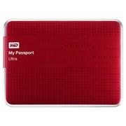 西部数据 My Passport  Ultra USB3.0 1TB 超便携移动硬盘 (红色)BZFP0010BRD