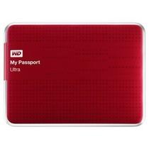 西部数据 My Passport  Ultra USB3.0 1TB 超便携移动硬盘 (红色)BZFP0010BRD产品图片主图