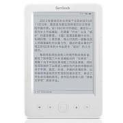 盛大 BBQ电子书阅读器 白色超薄6英寸 看书不伤眼 待机23天