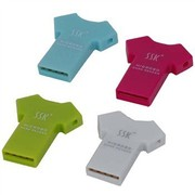 飚王 T恤型 TF卡 读卡器SCRS052(颜色随机)