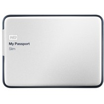 西部数据 My Passport Slim USB3.0 2TB 超便携移动硬盘 BPDZ0020BAL-PESN产品图片主图