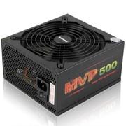 航嘉 额定500W MVP500模组游戏电源 (模组化/14CM静音风扇/60秒延时冷却/主动PFC)