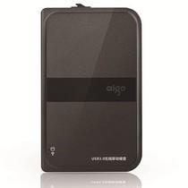 爱国者 HD816 500GB 无线移动硬盘  USB3.0 黑色产品图片主图