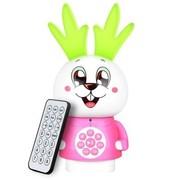 纽曼 嗨嗨兔X60快乐版 儿童MP3故事机(七彩灯 益智故事 好习惯引导 家教好帮手 适合0-7岁)粉色