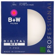 B+W MRC-UV 77mm 多层镀膜UV滤镜(适用佳能24-70,70-200,17-40,24-105,尼康24-70,适马AR