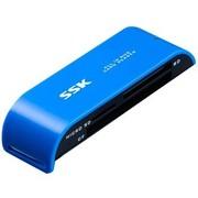 飚王 灵越多合一读卡器 SCRM055蓝色