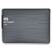 西部数据 My Passport  Ultra USB3.0 2TB 超便携移动硬盘 (钛)BMWV0020BTT