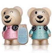 卡梵亚(KAVAYA) 卡卡熊音乐家 早教儿童MP3故事机带遥控 蓝色