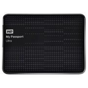 西部数据 My Passport  Ultra USB3.0 2TB 超便携移动硬盘 (黑色)BMWV0020BBK