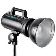 神牛 GS400-D 两灯套装 双子GS儿童专业闪光灯 影室灯