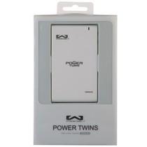 玩加 Powertwins(能量双星) 移动电源 12000毫安 白色产品图片主图