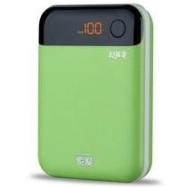 """索爱 S-76 """"超能量""""系列 10000 mAh 移动电源 充电宝 绿色产品图片主图"""