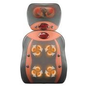 乐尔康 乐尔康LEK-918g经典款式按摩垫 颈椎按摩器颈部腰部肩部 多功能按摩靠垫全身按摩椅 红色两件套
