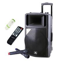 先科 天韵15号 单15寸拉杆音箱 户外便捷式音响/大功率录音扩音器产品图片主图