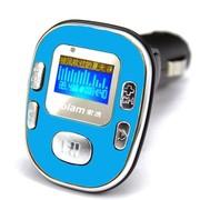 索浪 SL-605 汽车用车载mp3无损音乐播放器 可做U优盘读卡手机充电器 一机多用 蓝色-2G版