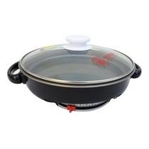 多星 电煎锅铛CDJ-12A 无烟不粘锅电烤盘不锈钢多功能电热锅煎蛋器产品图片主图