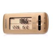 欧姆龙 卡路里计步器脂肪检测仪HJA-308-GD(黄色)