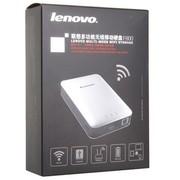 联想 F800 银色 1TB USB3.0 多功能无线移动硬盘 内置移动电源 无线路由器 WIFI硬盘 无线存储