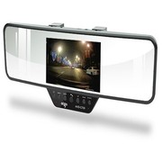 爱国者 AHD-C700 1080P高清摄像广角夜视 蓝牙后视镜行车记录仪