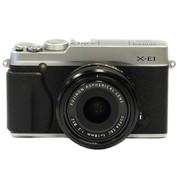 富士 X-E1(XF18mm/F2.0) 单电套机(银色机身/黑色镜头)