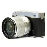 富士 X-E1(XC16-50mm) 单电套机(银色机身/银色镜头)