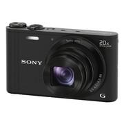 索尼 DSC-WX300 数码相机 黑色(1820万像素 3英寸屏 20倍光学变焦 Wi-Fi遥控拍摄)