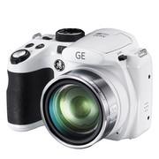 GE X600 数码相机 白色(1440万像素26倍光变 高感CMOS 26mm广角1080P全高清)
