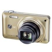 GE E1410SW 数码相机 香槟金色 (1440万像素 10倍光变 高感CMOS 28mm广角 1080P全高清)