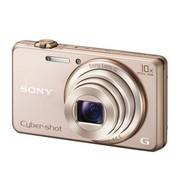 索尼 DSC-WX200 数码相机 金色(1820万像素 2.7英寸屏 10倍光变 25mm广角 WiFi分享 智能手机控制)