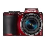 三星 WB110 数码相机 红色 (2020万像素 3.0英寸液晶屏 26倍光学变焦 22.3mm广角 内置8G卡)