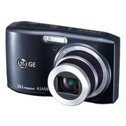 GE A1456W 数码相机 黑色(1410万像素 5倍光变 2.7英寸液晶屏 720P高清 28mm广角)