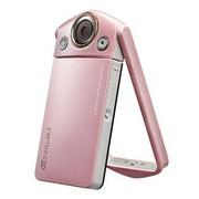卡西欧 EX-TR350 数码相机 礼盒装 蔷薇粉 (1210万像素 3.0英寸超高清LCD 21mm广角 自拍神器)