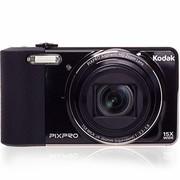 柯达 FZ151  数码相机 黑色(1615万像素 3英寸屏 15光学变焦 24mm广角 720P高清拍摄)
