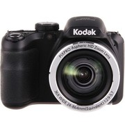 柯达 AZ361 数码相机 黑色(1615万像素CCD传感器 3英寸屏 36倍光学变焦 24mm广角 高清摄像)