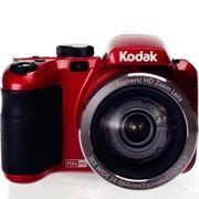 柯达 AZ362 数码相机 红色(1638万像素CMOS传感器 3英寸屏 36倍光学变焦 24mm广角)