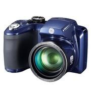 GE X2600 数码相机 蓝色(1600万像素 3.0英寸液晶屏 26倍光学变焦 26mm广角 1cm超微距 全景拍照)