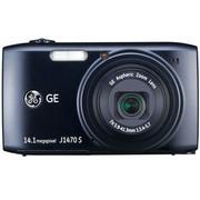GE J1470S 数码相机 黑色(1400万像素 28mm超广角 7倍光变 3.0英寸液晶屏 全能卡片机)