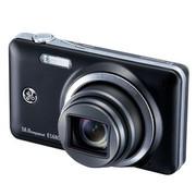 GE E1680W 数码相机 黑色(1600万像素 3.0英寸液晶屏 8倍光学变焦 28mm广角)