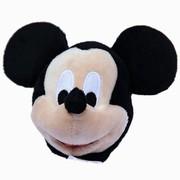 迪士尼 移动电源毛绒公仔系列智能快速充电宝5200毫安-米奇头