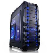 鑫谷 雷诺塔T1蓝黑版 全塔游戏机箱 限量发售\双U3\1.0mm背钢\热插拔\调速\背线