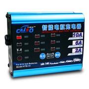 卡途宝 12V汽车电瓶充电器车载蓄电池充电器 摩托车电池充电器 智能修复蓄电池数显充电器 智能充电器