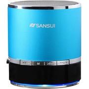 山水 E17蓝牙音箱带插卡收音机MP3播放器手机平板外放小音箱小音响 蓝色